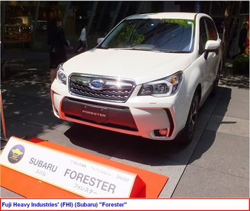 Subaru Forester ranked in collision safety